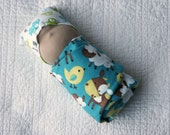 Affordable Waldorf Inspired Swaddled Baby Doll - perfect as a big brother or sister gift