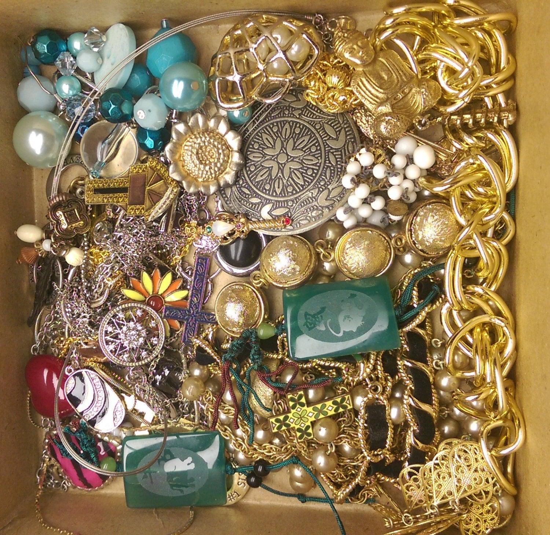 destash junk jewelry craft lot for by 1enchantedtreasures