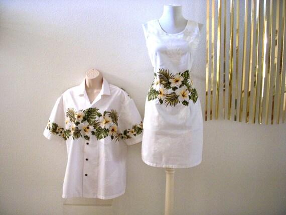stunning white hawaiian wedding dress and matching men 39 s