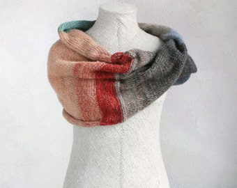 Rock Lobster Infinity Wrap Shawl Cowl - soft fluffy infinity scarf for indoors and out all winter long