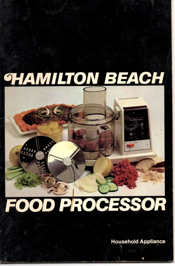 ronson food processor instruction manual