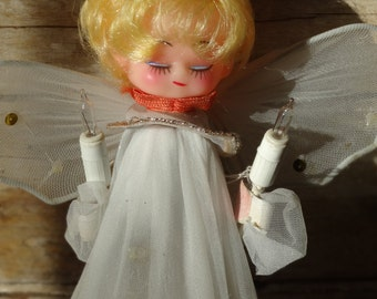 Vintage Retro Light Angel Topper Lovely