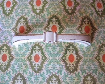 """2 Drawer Pulls Pictured in White or Cabinet Pulls 3"""" Centers Custom Colored Farmhouse or Traditional Bow Style B-32"""