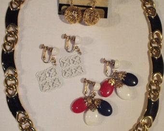 Napier jewelry lot