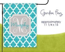 Moroccan Personalized Garden Flag
