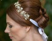 Swarovski Bridal Headpiece - Bridal Headband - Crystal Headpiece - Crystal Headband - Wedding Headpiece - Wedding Headband - CHARLIZE