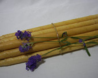 EAR CANDLES NATURAL Beeswax -  Professional  Grade 32 Double Dipped
