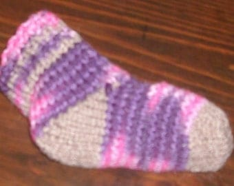 Toddler/childrens slipper/boot socks-as is or made to order