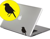 Cute Bird--Ipad Tablet Flat Pc Macbook Notebook Laptop Removable Graphic Art Wall Decals Stickers