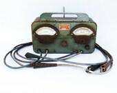 "1940s-50s Sun Manufacturing Amp-Volt Tester ""Stylish Automobilia Piece"""