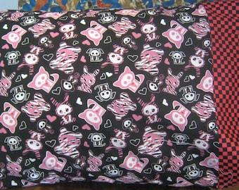 Skeleton Animals Standard Pillowcase