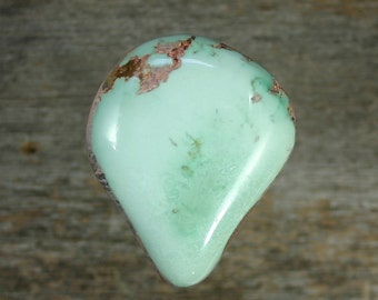 Turquoise cabochon Candelaria mine,  A-55