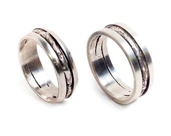 Men's Twig Ring