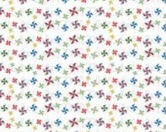 Riley Blake Designs Fabric Summer Pinwheels Multi - 1 yard