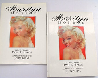 Vintage MARILYN MONROE Compiled and Edited by John Koba Hardcover with Dust Jacket - Coffee Table Book, Marilyn Monroe A Life on Film