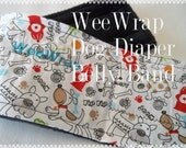 Dog Diaper Belly Band, Stop Marking with WeeWrap Personalized