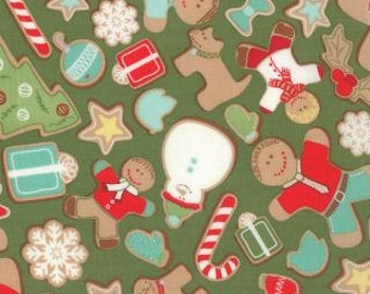In From The Cold Christmas Fabric from Moda Fabric by Kate Spain