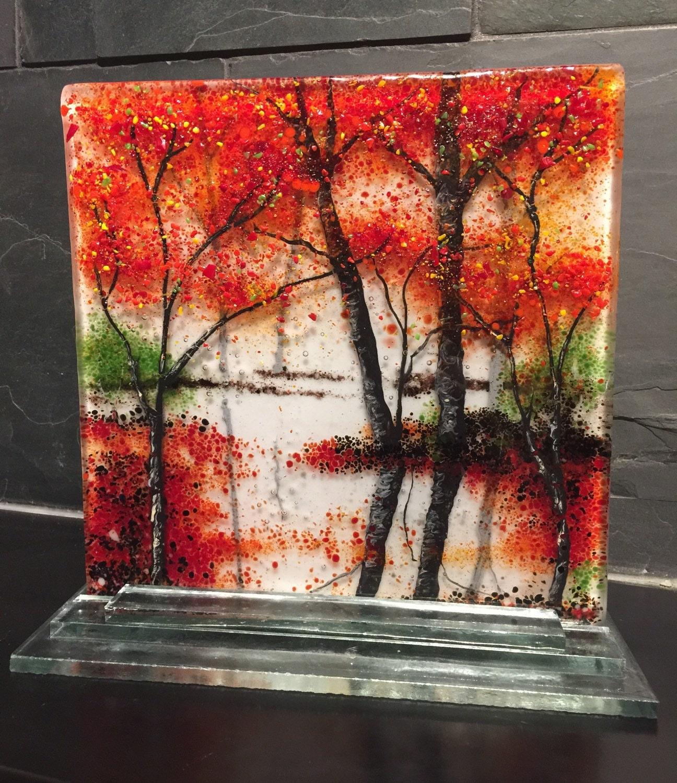Fused Glass Wall Art: Fused Glass Handmade Fused Glass Fused Glass Wall By Jwcalgary