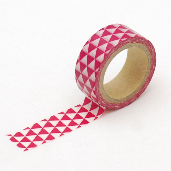 Triangle Washi tape - Masking Tape - Love My Tapes