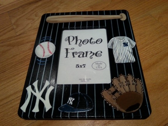 Items Similar To Ny Yankees Personalized Hand Painted