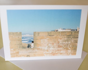 Fine Art Film Photography Greetings Card Morocco