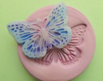 Butterfly Fondant Mold Resin Clay Flexible Mold