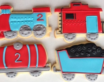 Train Sugar Cookie Collection Choo Choo!