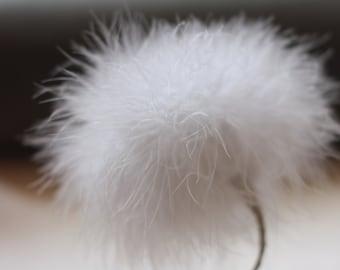 Feather Flower Tutorial, Home Decor, Wedding Bouquet