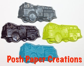 20 Firetruck crayons - choose your colors