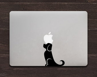 Dog, Best Friend, Puppy Vinyl MacBook Decal BAS-0223