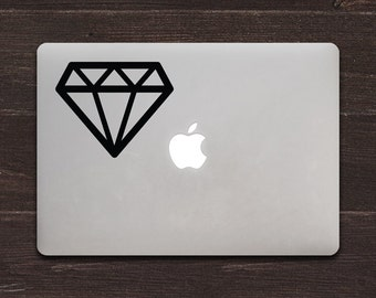 Diamond Vinyl MacBook Decal BAS-0271