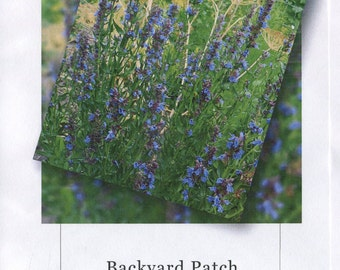 Blank Garden Journal for 2017, photos, herbs,