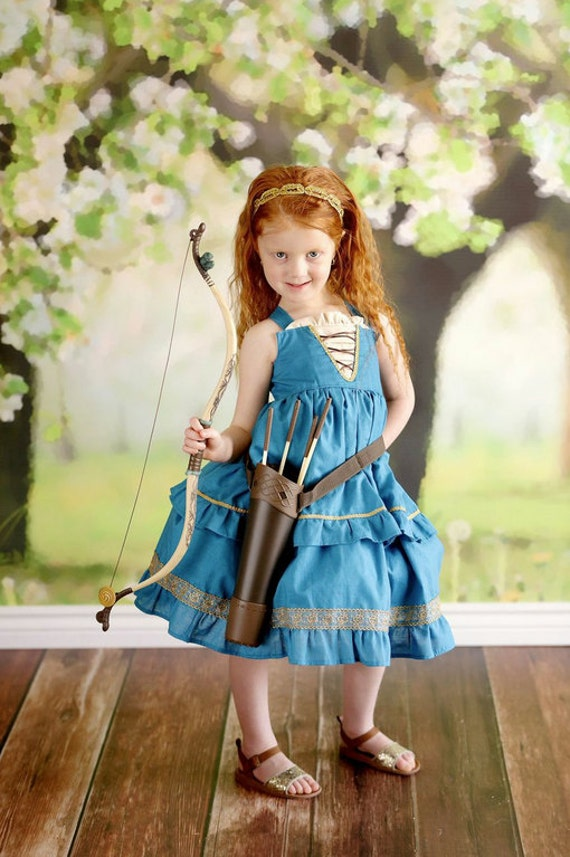 Girls Brave Princess Party Dress
