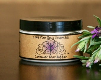 Lavender hand cream, Aromatherapy body butter, stress relief lotion, sleep aid,  natural baby lotion
