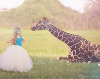 Full Length Tutu -  Girls Long Tutu - SEWN tutu- Wedding tutu - Holiday tutu - Full length tulle skirt - ivory tutu - flower girl tutu -