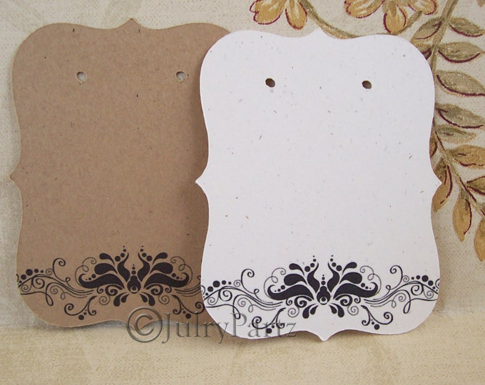 64•VERONICA Floral•Earring Cards,•Jewelry cards•Display Card•Earring Display•Earring Holder