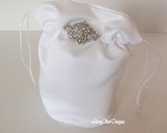 Bridal Dollar Dance Bag Wedding Money Bag Wedding Purse Custom Made
