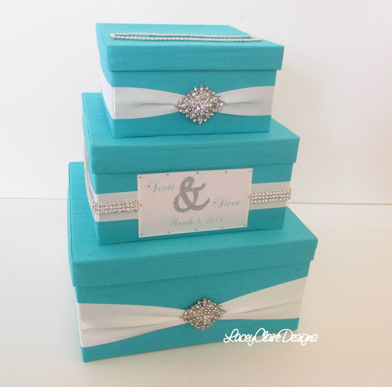 Wedding Gift Card Mailbox : Wedding Gift Box Bling Card Box Rhinestone Money Holder