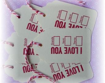 I love you tags - Grande- Venti - Trenta - java - expresso - coffee tags  (6)