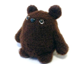 Grizzly Bear Plush Toy  - Made to Order