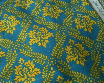 Panel of Vintage French County Manor House Fabric 1940s Material