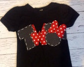 Minnie mouse birthday shirt, two, 2nd,Mickey mouse girl boy t shirt,