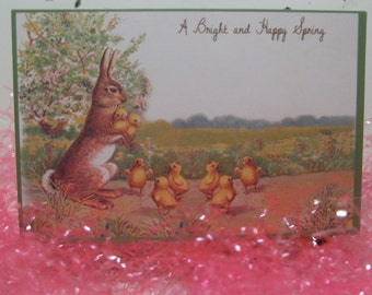 Vintage Inspired Bethany Lowe Easter Paper Place Cards