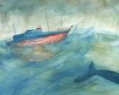 Blue Whale -storm