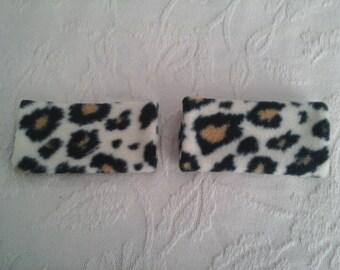 Leopard walker hand grip covers