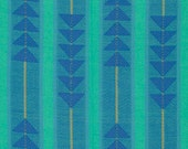 One Yard of Traffic in Denim - Anna Maria Horner's Loominous collection for FreeSpirit Fabrics