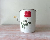 RESERVED for Aaron- Vintage Willow Sifter - Christian Dior Rose