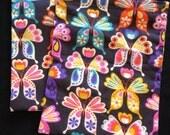 Sandwich Bag, Teacher Gift, Party Favor Bag, Reusable Lunch Bag, Butterfly
