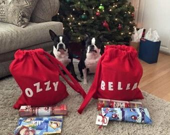 Personalized Santa Bag