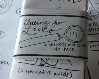 Clueing for Looks  -- Sherlock minicomic six-pack